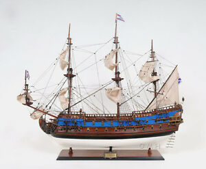 Russian Navy Goto Predestination Tall Ship 37 Wood Model Sailboat Assembled