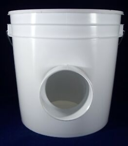 2 Pack Automatic Chickien Duck Hanging 2 Gal Gravity Feeder 2 Gal Capacity