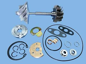 Dodge 5 9l Diesel Chrysler Turbo Charger Compressor Wheel Shaft Rebuild Kit