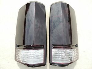 07 11 Nitro Smoked Tail Lights Black Oe Tinted Non Led Painted Custom Dodge