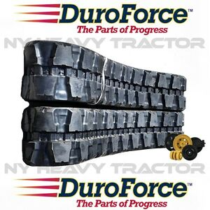 New Rubber Tracks Set Of Two For Takeuchi Tl150 450x100x50 17 7