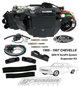 Vintage Air Chevelle W Ac 1966 1967 Air Conditioning Evaporator Kit 564466