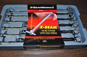 Kd Gearwrench 12 Pc Metric X Beam Non Ratchet Combination Wrench Set Kd 81912