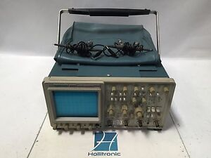 Tektronix 2465 300mhz Oscilloscope 4 channel W Leads