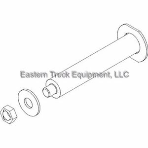 Boss Snowplow Horizontal Hinge Pin Kit V Blade Rt3 Boss Snow Plow Vxt Dxt