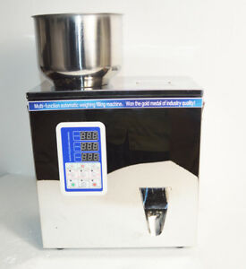 2 50g Granular And Powder Filler Popcorn Peppermint Filling Machine