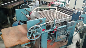 Nygren dahly Paper Scoring Machine