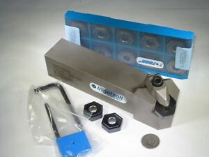 New Ingersoll Thsnl 20 6d Lathe Holder Hnmg Carbide Turning Insert Grooving Tool
