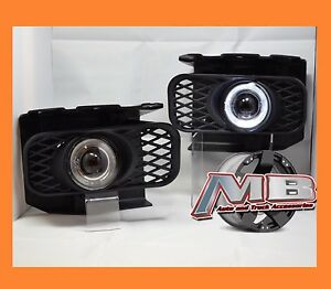 Mba Premier Pair Halo Projector Clear Fog Lights 99 04 Ford F150