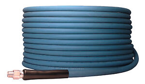 200 Ft 3 8 Blue Non marking 4000psi Pressure Washer Hose 200 Free Shipping