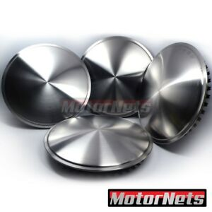 15 Moon Spun Stainless Steel Rim Wheel Disc Hub Caps Trim Covers Rat Street Rod