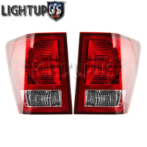 Left Right Sides Pair Rear Brake Tail Lights For 2007 2010 Jeep Grand Cherokee