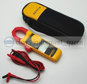 Fluke 302 Handheld Digital Clamp Meter Multimeter Tester With Soft Case Kch16