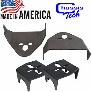 Weld On Upper Lower Air Bag Mounting Brackets Mounts Suspension 3 00 Axle