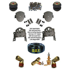 Air Helper Spring Tow Kit Chassis Tech Bolton 2011 2016 Chev Gmc 2500 3500 Level