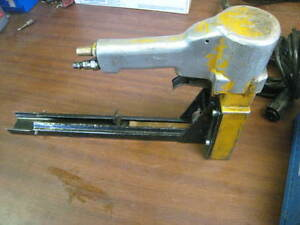 Used Bostitch Model D19 Pneumatic Stapler Free Shipping