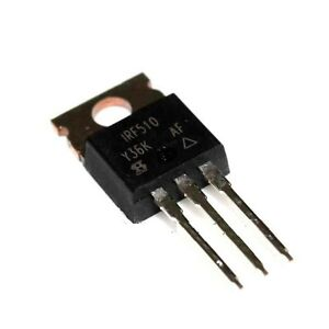 50 Pcs Irf510npbf Irf510n Irf510 Power Mosfet N channel 100v 5 6a