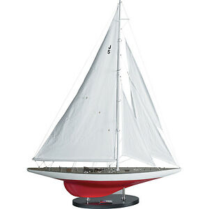 America S Cup Ranger J Model Yacht 27 25 Built Wooden Model Sailboat Assembled
