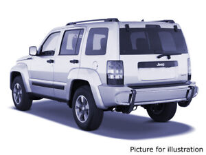 2008 2012 Jeep Liberty Stainless Steel Double Tube Rear Bumper Protector Guard