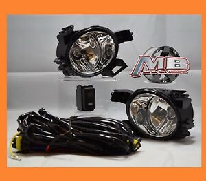 For 2005 2006 Nissan Altima 2004 2005 2006 Nissan Quest Clear Fog Light Kit