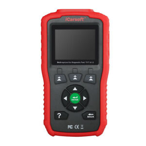 New Version Toyota Icarsoft Tyt Ii Multi System Diagnostic Code Fault Scanner