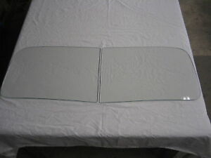 1949 1950 1951 Ford Convertible Windshield Clear