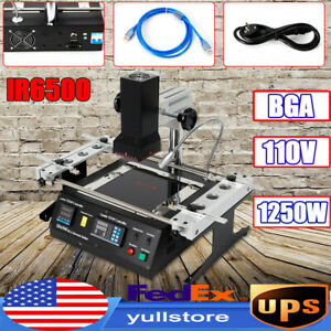 Ir6500 Infrared Bga Reballing Soldering Stations Kits Ir Rework Station For Xbox
