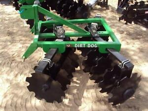 Dirt Dog 100 6 Adjustable Disc Harrow