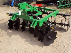 Dirt Dog Heavy Duty 200 6 Adjustable Disc Harrow