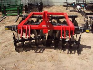 Dirt Dog Heavy Duty 300 6 Adjustable Disc Harrow