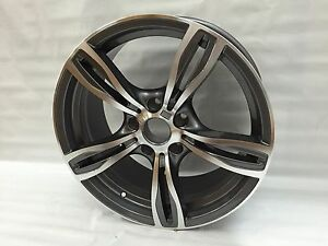 New 18 Matte Gunmetal M5 Wheels Rims Fits Bmw F10 5 Series Xdrive 528i 528xi
