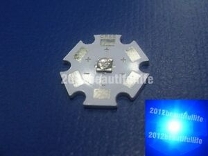 50pcs lot Cree Xt e Royal Blue 450 455nm Led Emitter On 20mm Star Board