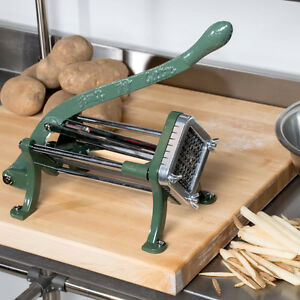 Choice 3 8 Green French Fry Cutter Potato Cutter Slicer
