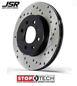 15 17 Mustang Gt Or Ecoboost 2 3l Non Brembo Front Stoptech Cross Drilled Rotors