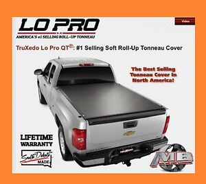 Truxedo Low Pro Soft Roll Up Tonneau Cover 2007 2016 Toyota Tundra 6 5 Ft Bed