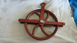Roofers Gin Barn Well Pulley 14 Western T350 14 New Old Stock Block Sheave