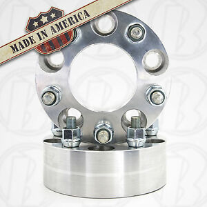 2 Usa Made 5 Lug 4 75 To 5 X 4 5 Wheel Adapters 2 Spacers 12mm 1 5 Studs