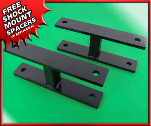 Front Level Lift Kit 1999 2004 Ford F 250 F 350 Super Duty 4wd Steel 2 Shackles