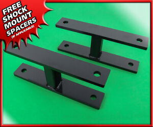 Front Leveling Lift Kit For 2000 2005 Ford Excursion Steel 2 Shackles 4x4 4wd