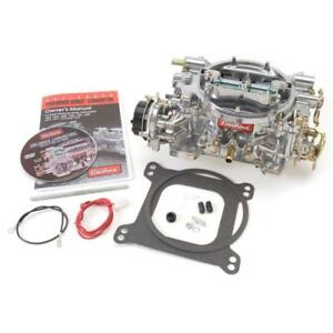 Edelbrock Carburetor 1403 Performer 500 Cfm 4 Barrel Vacuum Secondary Satin