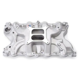 Edelbrock Intake Manifold 2166 Performer Black Aluminum For Ford 429 460 Bbf