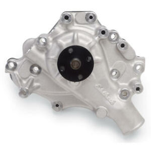 Edelbrock Water Pump 8843 High Volume Satin Aluminum For Ford 302 351w Sbf
