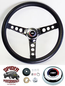 1969 1994 Camaro Steering Wheel Red White Blue Bowtie 13 1 2 Classic Chrome