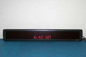 Emc Aspect Telecaster 4160r120 Programmable Scrolling Led Sign