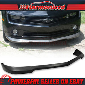 Fits 10 13 Chevy Camaro V6 Poly Urethane Front Bumper Lip Spoiler Ss Style