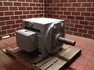 General Electric Custom 8000 Induction Motor 5k814308a25 100hp 3ph 1180rpm