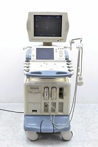 Toshiba Ssa 770a Aplio Xv Diagnostic Ultrasound W Pvt 385bt Plt 1204at Probes