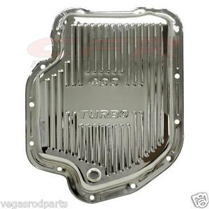 Automatic Transmission Oil Pan Gm Turbo Th 400 Turbo Chevy Gm Chevrolet Chrome