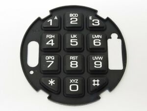 La Gard Kaba Rubber Keypad For Auditgard Series Electronic Combination Lock New