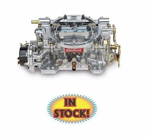 Edelbrock 1411 Performer 750 Cfm Carburetor With Electric Choke Satin